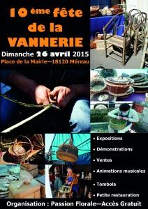 10 ème fête de la vannerie à Méreau @ Méreau | Centre | France