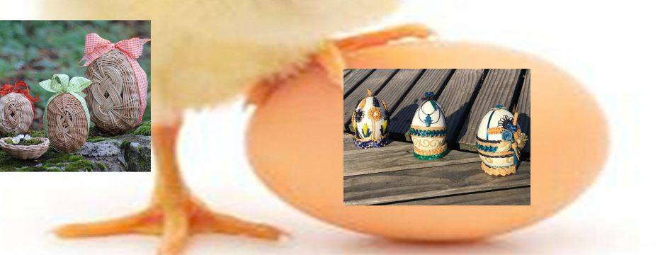 Défi – réalisez un œuf de Pâques en vannerie