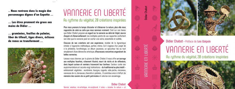 nouveauté en vannerie : 20 réalisations de Didier Chabot