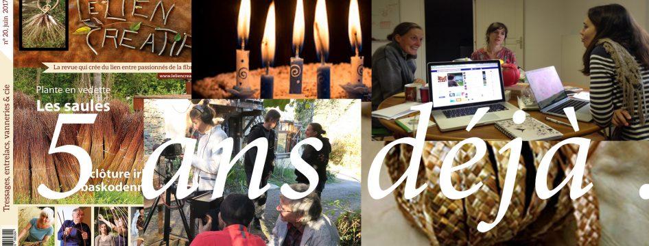 Le Lien Créatif fête ses 5 ans